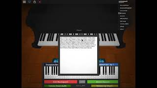 XXXTentacion - changes! on the roblox piano! (well at least I tried)