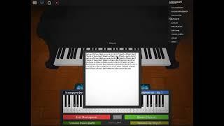 XXXTentacion - Änderungen! auf dem Roblox-Piano! (naja, zumindest habe ich versucht)