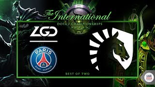 PSG.LGD VS Liquid (BO2) - The International 2018  Groupstage Day 1