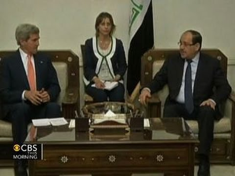 Secretary of State John Kerry makes surprise visit to Iraq