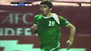 اهداف العراق الثلاثة على السعودية   كأس آسيا تحت 22 سنة   YouTube