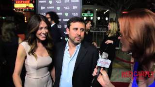 Jackie & Jeff Schaffer At The Season 7 Premiere For FXX's The League @TheLeagueFXX