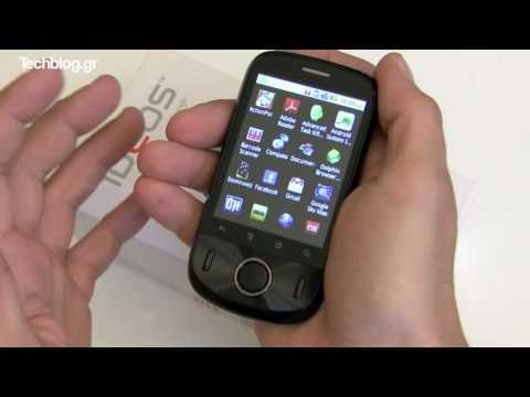 Huawei IDEOS U8150 hands-on (Greek)