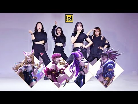 K/DA - POP/STARS (ft Madison Beer, (G)I-DLE, Jaira Burns) | Dance cover by LOL CREW from VIETNAM