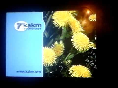 KAKMTV 7 Anchorage, Alaska PBS Member Television Station Identification From 2002