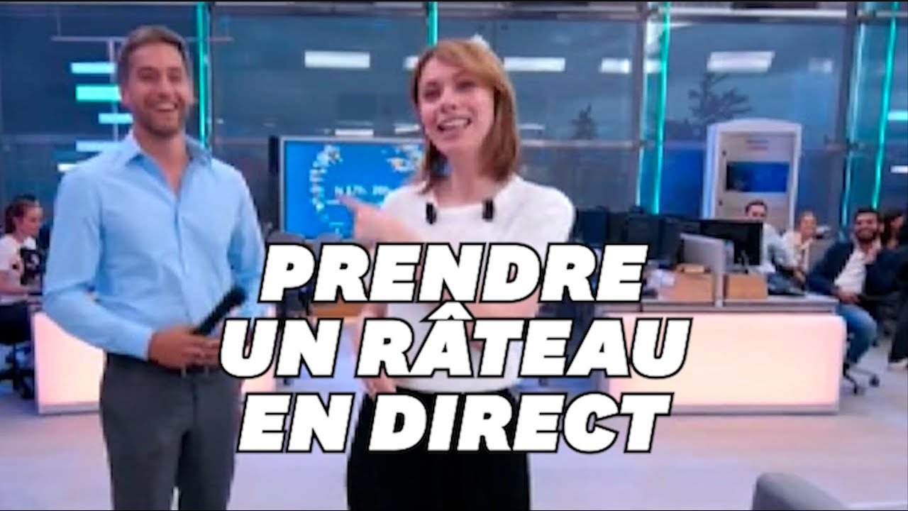 Download Ce journaliste de France info s'est (encore) pris un beau râteau en direct