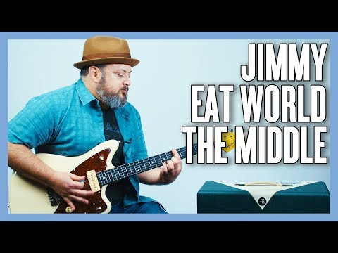 Jimmy Eat World The Middle Guitar Lesson + Tutorial