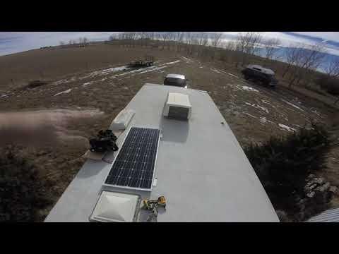 Simple 100-watt Solar installation: Start to finish.