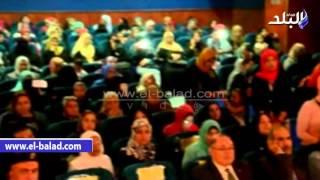 بالفيديو والصور.. محافظ بورسعيد يكرم 250 ممرضة فى اليوم العالمى للتمريض