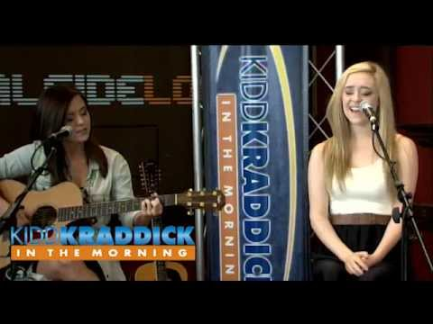 "Megan and Liz ""Happy Never After"" acoustic performance - Kidd Kraddick in the Morning"