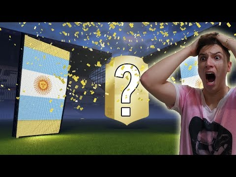 SERÁ QUE CONSEGUI O MESSI NO PACK?! - FIFA 18