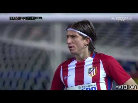 Atletico Madrid vs Celta Vigo 3 2   All Goals & Extended Highlights   La Liga 12 02 2017 HD
