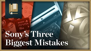 Sony's 3 Biggest Mistakes | Gaming Historian