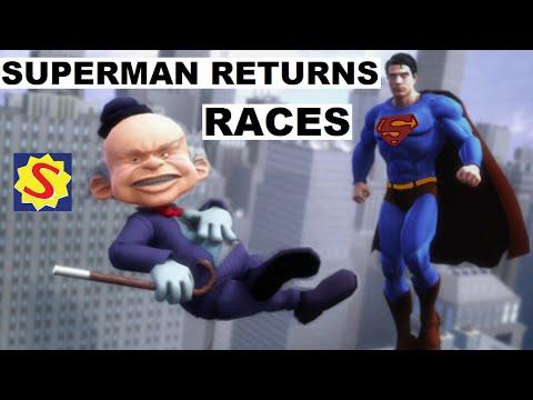 Superman Returns - Racing Against Mister Mxyzptlk