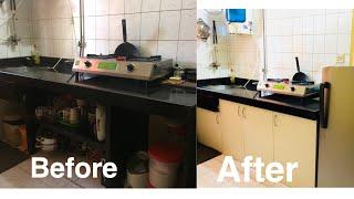 Indian Kitchen Organization | Complete Kitchen Makeover Under Rs 10k??