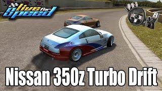 Live For Speed - Nissan 350z Turbo drift ft. ZoiooGamer G27
