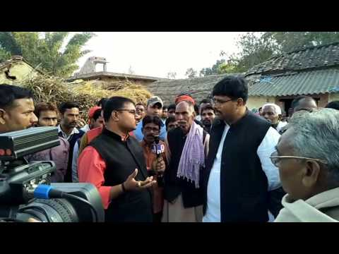 MLA Abhay Singh interview by Tv9 News uploaded Atul Mishra