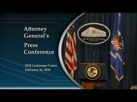 Rod Rosenstein Announces Indictment of 13 Russian Individuals For Meddling In The 2016 Election