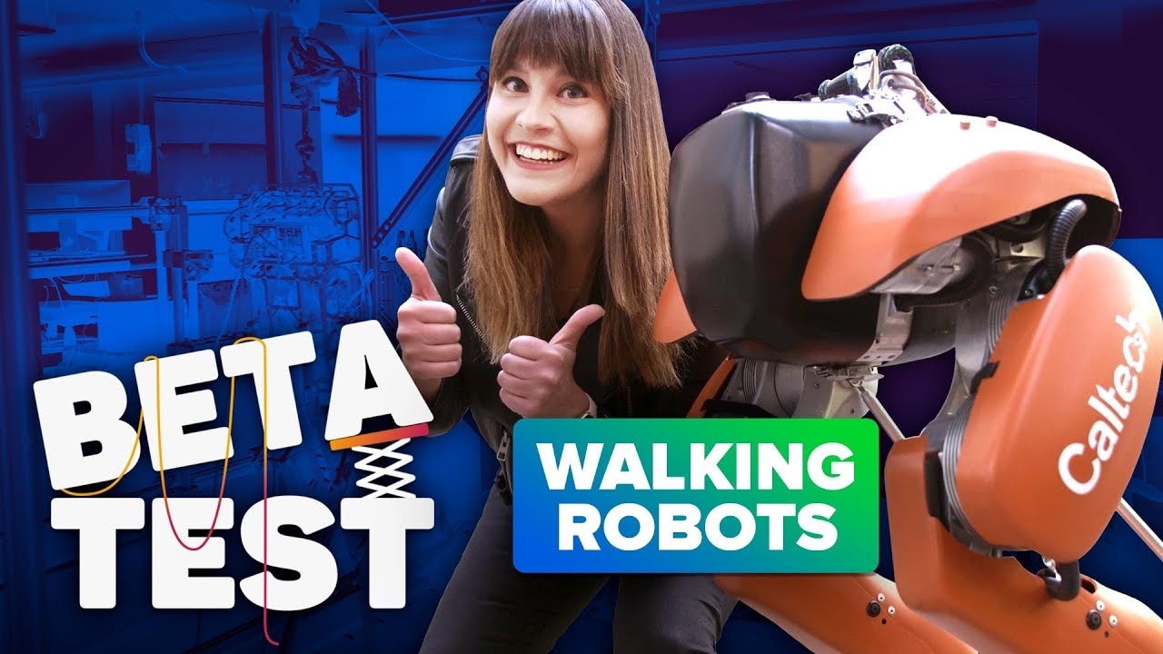 These robots walk like humans | Beta Test