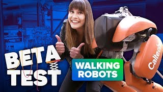 Walking robots are here to help humans