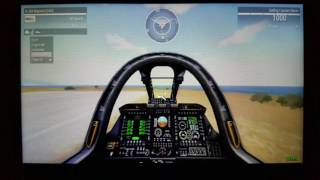 GPD Win ARMA 3 Vehicle Course test 1