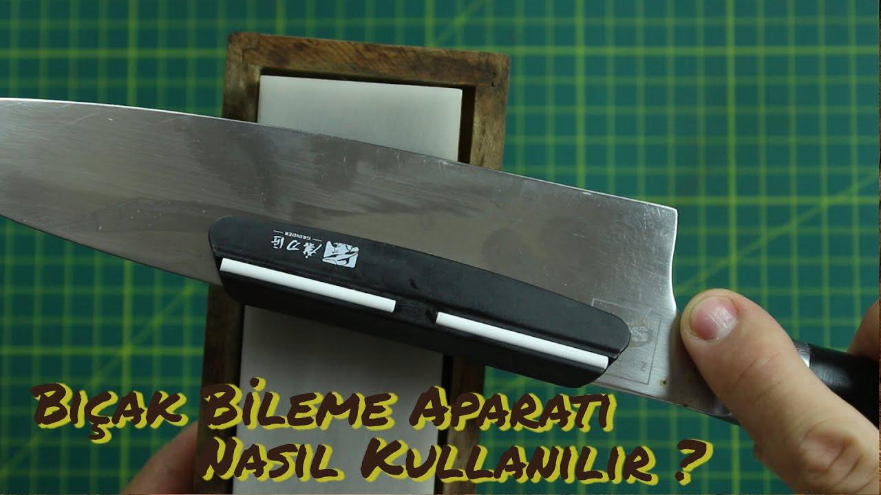 Bıçak bileme aparatı nasıl kullanılır ?