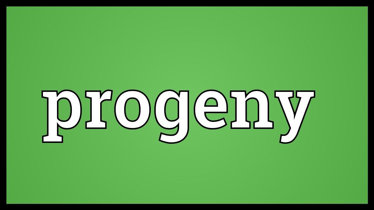 Progeny Meaning