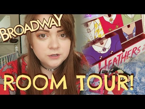 STAGEY BROADWAY ROOM TOUR!