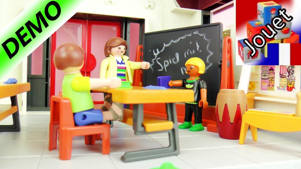 Ecole playmobil city life meublons la salle de classe for Salle a manger playmobil city life