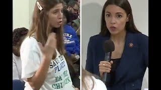 Goofy Right-Wing Troll Tries To Get AOC's Support For Baby Eating