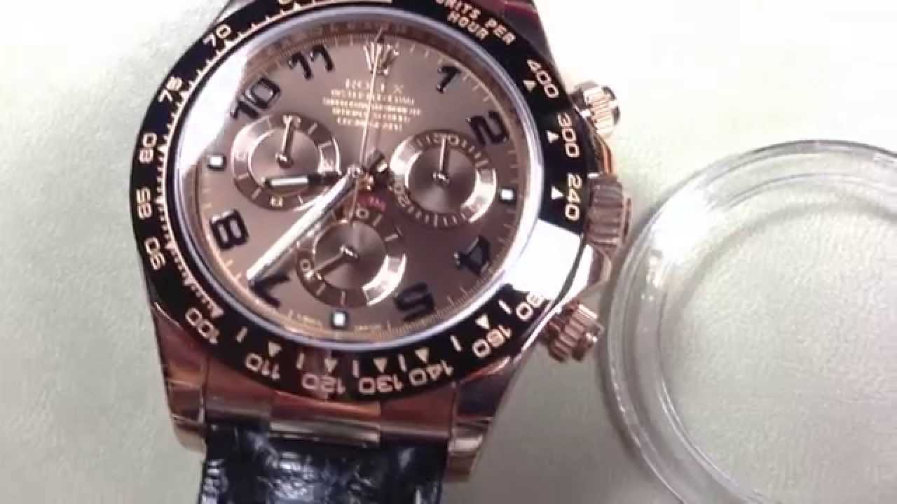 95f1a5231a7 Rolex Daytona Cosmograph Rose Gold