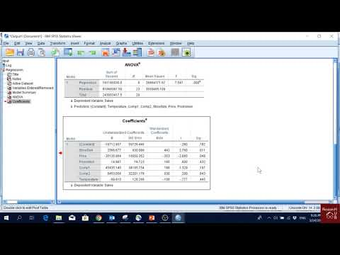 MANOVA in SPSS (Multivariate Analysis of Variance) - Part 1из YouTube · Длительность: 4 мин40 с