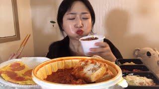 김치찜 먹는 한국인 1인가구 먹방 (+김치음료수) Ki…
