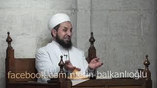 Abdülmetin Balkanlıoğlu Hoca 20 01 2015 Nişanca Camii