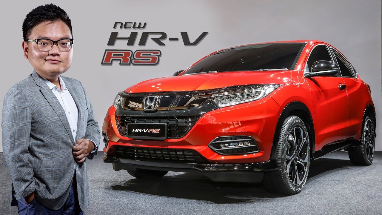 FIRST LOOK: 2018 Honda HR-V RS facelift in Malaysia - YouTube