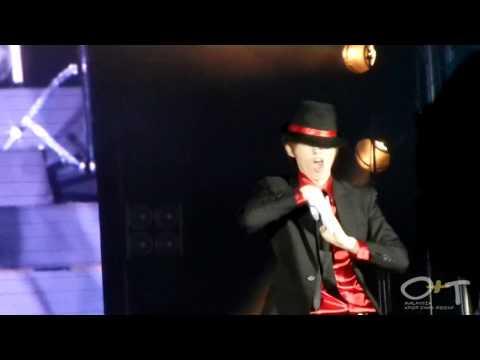 [Fancam]110528 Hari Belia Negara 2011 Super Junior-M - Dangerous (EunHyuk Solo Dance)