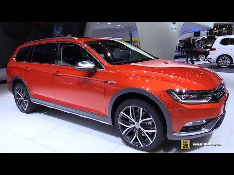 2016 Volkswagen Passat Alltrack 2.0 TDI 4Motion - Ext, Int Walkaround - 2015 Geneva Motor Show