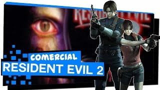 COMERCIAL DO RESIDENT EVIL 2 | Games Land