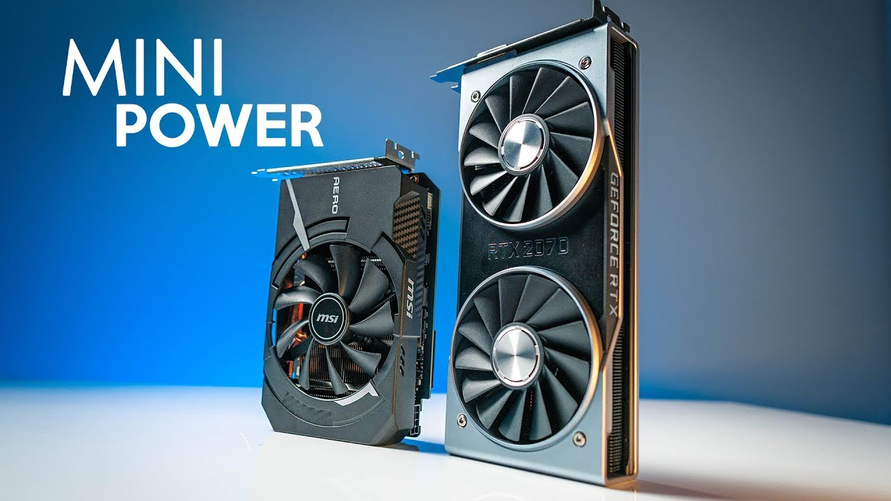 MSI RTX 2070 Aero ITX vs  2070 FE - Overclocking & Thermals!