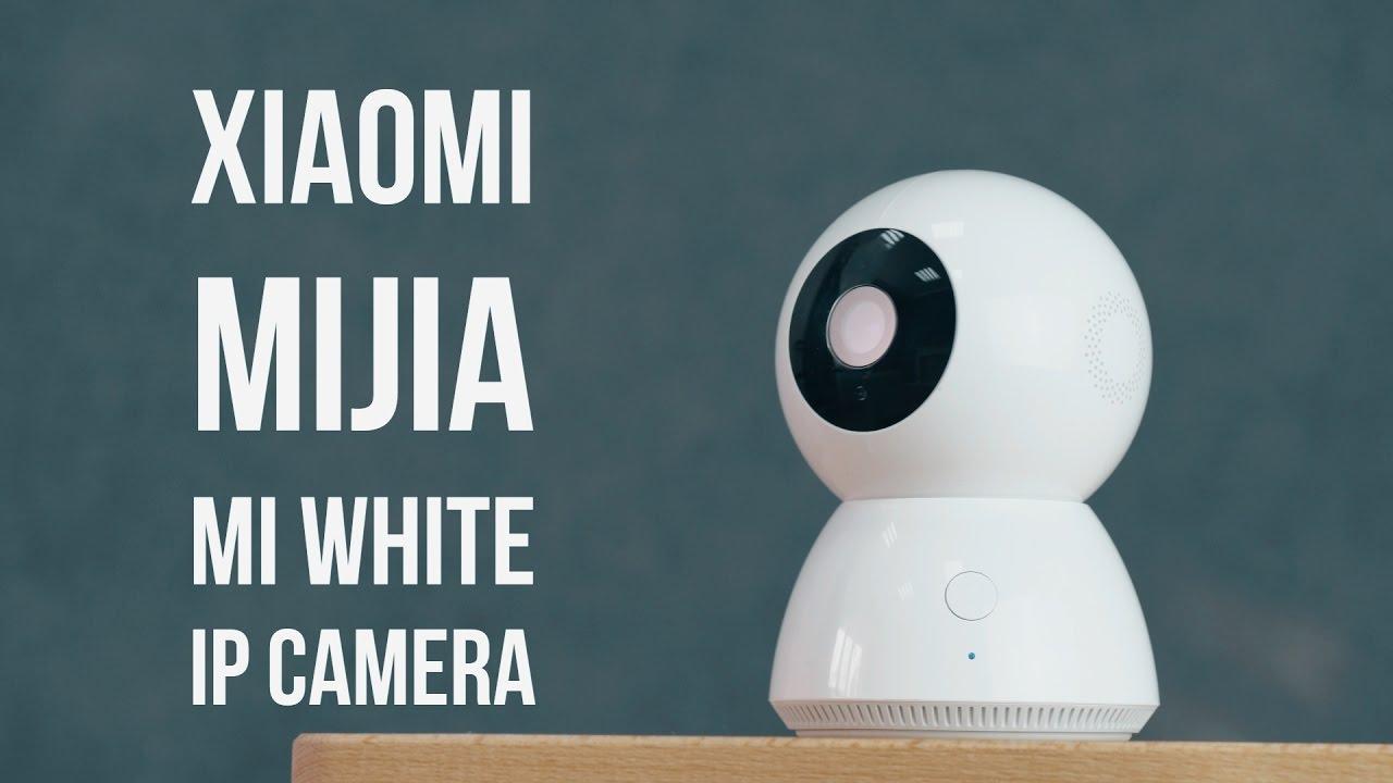 Xiaomi Mijia White IP Camera: лучшая IP камера для дома. Видеонаблюдение и не только.