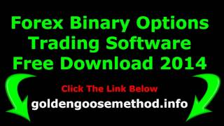 Forex Binary Options Trading Software Free Download 2014  Best FX Auto trading Robot Platform Online