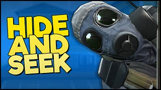HIDE AND SEEK! - CS GO: Seek Hotel Map (Funny Moments)