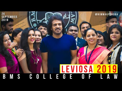 UPENDRA at BMS COLLEGE OF LAW, Bangalore | Prajaakeeya | UPP | UPENDRA WITH LAW STUDENTS
