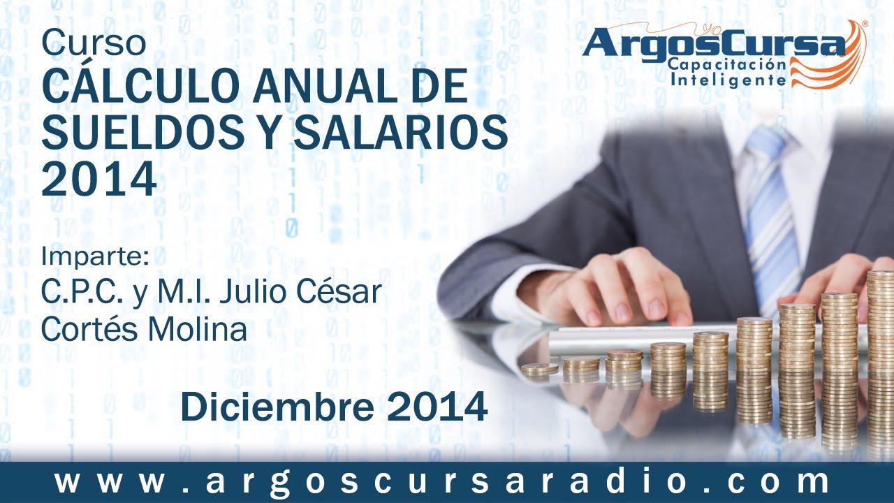 Curso Cálculo Anual De Sueldos Y Salarios 2014