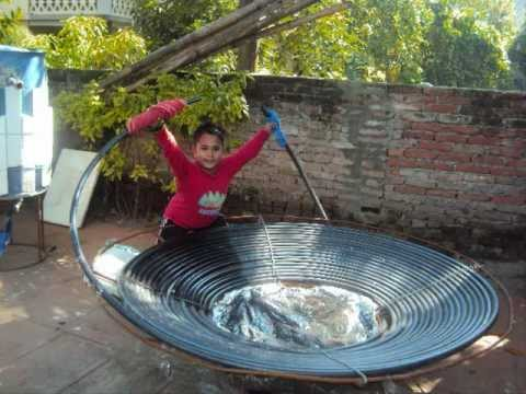 Diy Solar Water Heater Innovation To Insure Free Energy