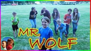 Mr Wolf with That YouTub3 Family! / Steel Kids