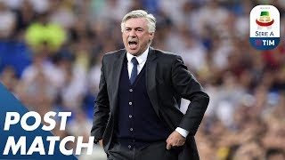 Napoli 1-0 Fiorentina |  Post Match Press Conference Carlo Ancelotti | Serie A