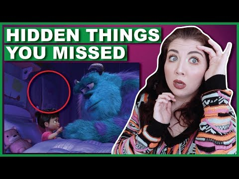 Hidden Things You Missed In Monsters Inc.