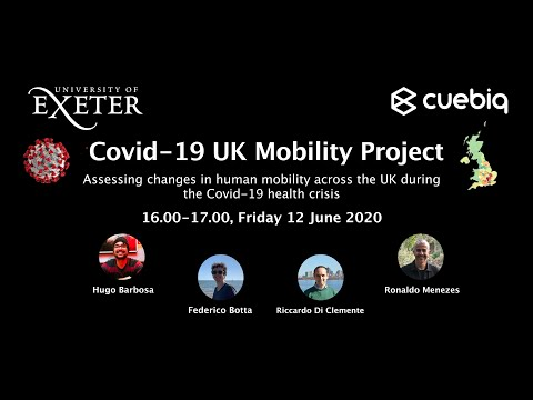 Covid19 UK Mobility Project