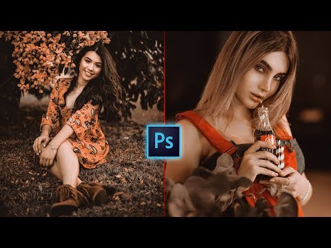 Chocolate Color Grading Effect In Photoshop | Photo Effects | Photoshop Tutorial